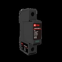 RV500(600 750)-40(25)M2-10R 可插拔防震模块2级多用法单极直流电涌保护器