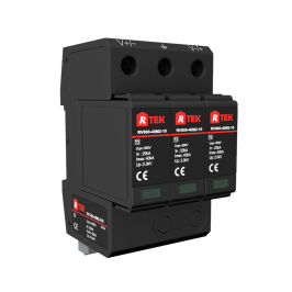 RV600(1000 1200)-40(25)M2-21R 光伏直流配电系统 Ⅱ级/2级电涌保护器